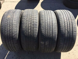 4 Toyo Open Country A20 - 245/55/19 - 50%-60% - $120 For All 4