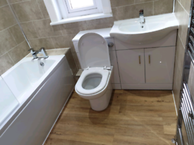 BATHROOM/KITCHEN FITTERS .WE WILL BEAT ANY GENUINE QUOTATION. TIDY , F