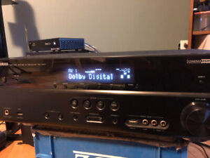 Yamaha Home Theater Receiver and Surround Sound Speaker System