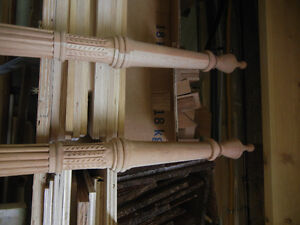 Hand Carved Cherry Rice Bed Legs - Some Wood Work Required Kitchener / Waterloo Kitchener Area image 9