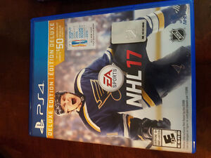 NHL 17 PERFECT CONDITION PS4