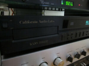 California Audio Labs Cd player for parts