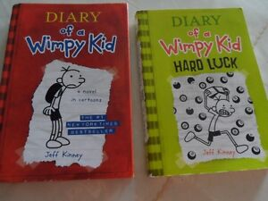 "2 ""Diary of a Wimpy Kid"" Books"