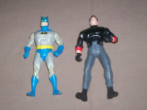 LOT OF 6 ACTION FIGURES BATMAN - DUKES OF HAZARD - BLACK HOLE