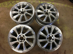 "19"" AMG Mercedes SLS Turbine Wheels 5X112"