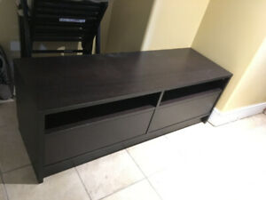 IKEA TV Bench (black)