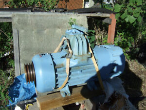 VACUUM PUMP NEW NEVER USED FOR VAC TRUCK  PM80