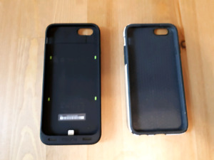 Mophie juice pack and Speck Candyshell cases for iPhone 6/6s