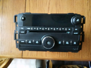 08 chevy factory stereo