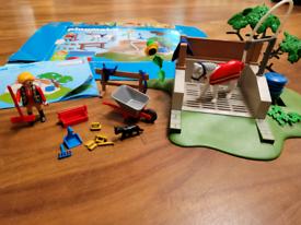 Playmobil horse set