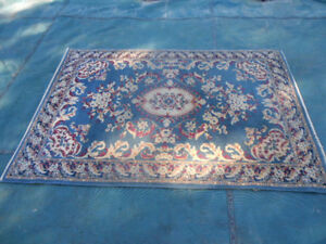 Blue Throw Rug