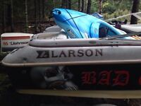 Speed boat and 12 foot aluminum