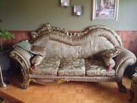 Couch and armchair UNIQUE STYLE!