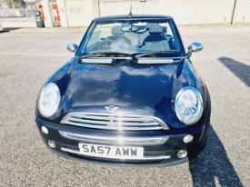 Convertible 2007 Mini 1.6.Long Mot 2022..no Advisory.. £1950
