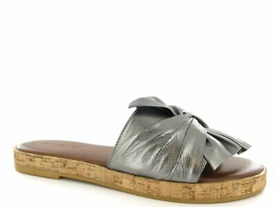Inuovo Sandals Women 8266 Pewter Size EU 36 UK 3 New
