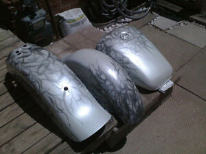"Motorcycle paint repairs & bodywork ""SPECIAL PRICE "" 3 pcs Windsor Region Ontario image 7"