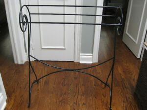 Blanket Rack - Wrought Iron