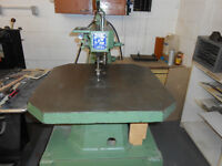 INDUSTRIAL SCROLL SAW
