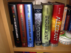 Divergent and Hunger Games trilogies