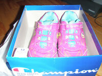 2  pairs of sneakers girls size 13