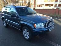 Jeep Grand Cherokee 4.0 auto Limited. FULL HISTORY, UP TO 84 K. 11 STAMPS.