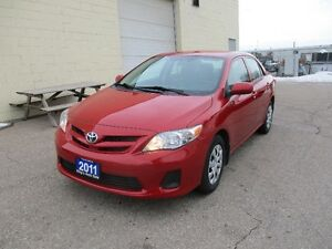 2011 TOYOTA COROLLA ONLY 68,000 KM