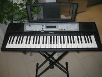 Yamaha YPT200 Keyboard, Stand & Lesson Package