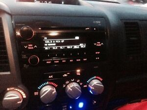OEM radio with CD player from a 2011 Toyota Tundra. Like new.