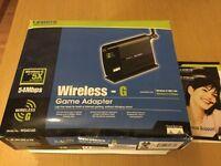 Linksys wireless-G game adaptor
