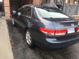 Honda Accord EXL 2004 - FOR SALE (LOW KILOMETERS/FULLY LOADED)
