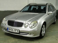 2005 55 MERCEDES-BENZ E270 2.7 CDI AUTO AVANTGARDE DIESEL ESTATE Xenons LEATHER