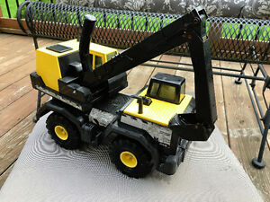 Tonka- Steel Backhoe