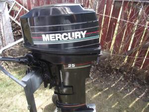Selling my 1994 25 HP long shaft Mercury 2 stroke motor