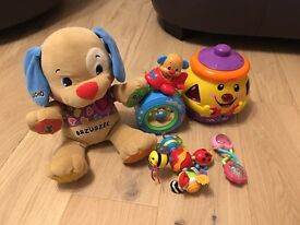 Fisher price lamaze baby toys