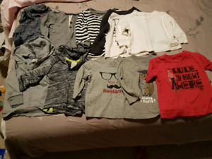 Huge lot of 12 month boy clothing