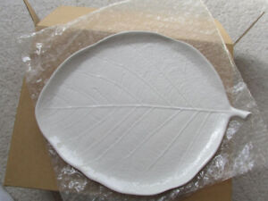 Michael Aram Forest Leaf Salad Desert Plate Set of 4