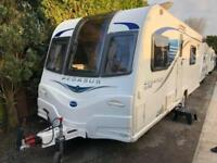 2014 Bailey Pegasus Rimini 4 berth caravan FIXED SINGLE BEDS MOTOR MOVER BARGAIN