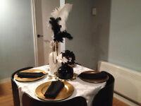 decoration de salle et location de housse de chaise et autres...