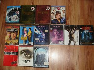 LOT 295 FILMS DVD A VENDRE ou À PARTIR DE 3$ ch.,+ XXX à 5$ ch..