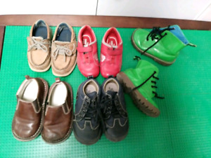 Toddler size 8 shoes and boots $35 takes LOT