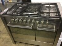 Stainless steel 5 burners gas cooker