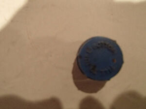 4 Pcs Vintage Screw In Battery Caps. Blue FILL TO TUBE BOTTOM Sarnia Sarnia Area image 9