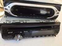 Car cd player, job lot, Aux Mp3 cheapest ever deal. Pioneer and Sony explode