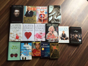 Assortment of biographies and novels  London Ontario image 1
