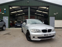 2007 BMW 116 1.6 PETROL MANUAL 3 MONTHS WARRANTY PX WELCOME
