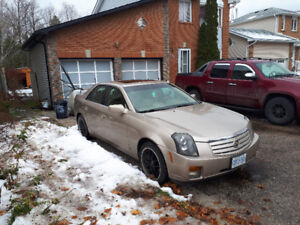 Cadillac CTS 6 cyl.rwd.fully loaded