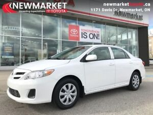 2013 Toyota Corolla CE  - one owner - local - trade-in - $49.24