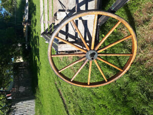 FOR SALE: Wagon/tractor wheel