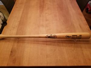 "MARK MCGWIRE ""BIG MAC"" AUTOGRAPHED BAT BATON AUTOGRAPHIÉ MLB"