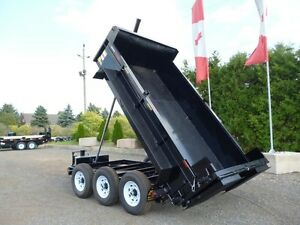 10 Ton Contractor Dump Trailer by Miska Trailers